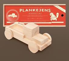 Den klassiske plankelastebilen