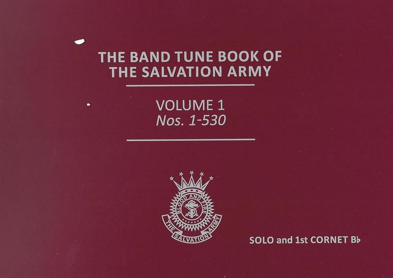 NEW BAND TUNE BOOK OF THE S.A. - VOL 1