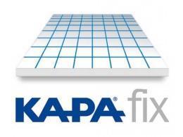 Kapa-fix 1s foam board   5mm  hvit  70x100cm