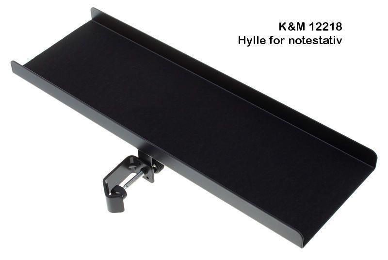 K&M Aluminium hylle for stativ