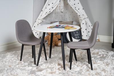 Polar stol XXS grå