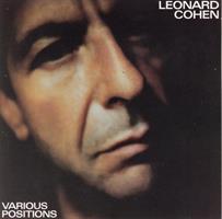 COHEN LEONARD: VARIOUS POSITIONS-KÄYTETTY LP