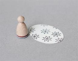 Stempel Small Selburose Outline