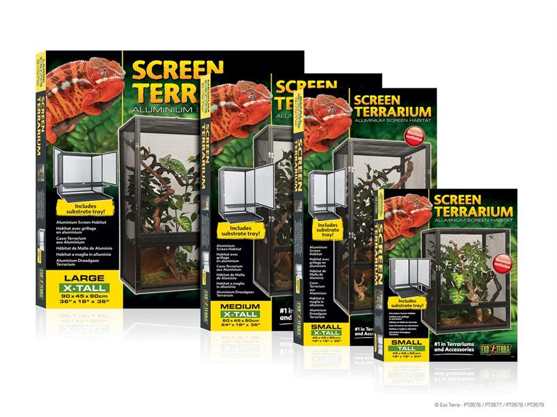 Screen Terrarium, 45x45x90cm