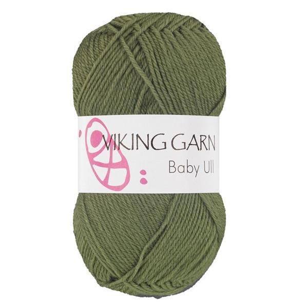 Viking Baby Ull Grön