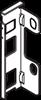 LEGRABOX Adapter träbakstycke M