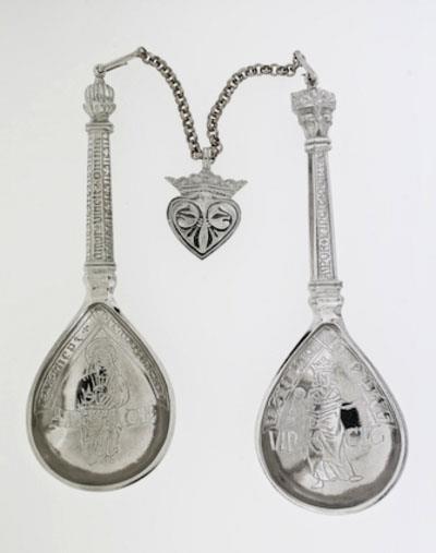Brylupsskjeer Weddingspoons