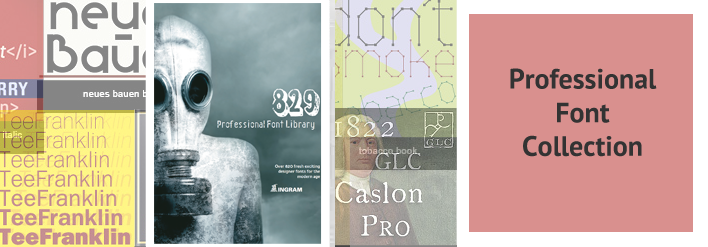 Professional Font Library