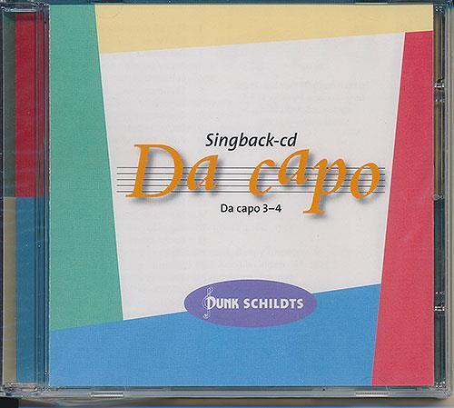 Da capo, åk 3-4, CD