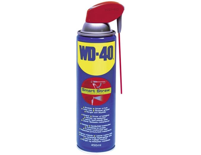 WD40 Universalolja 450ml Smart Straw