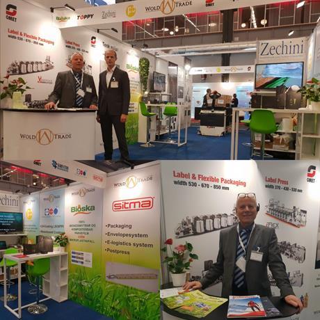 Wold-Trade på Scanpack 2018 i Gøteborg