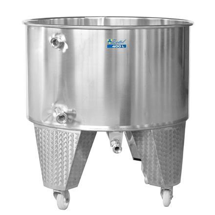 Meskekarr på 400 liter med whirpool