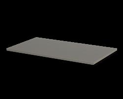 Plåthylla slät 900x500