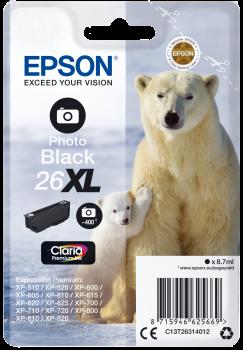 Epson 26XL Photo Black