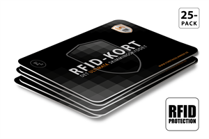RFID-kort 25-pack