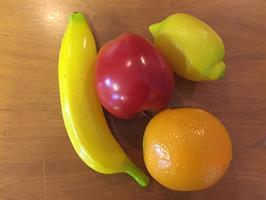 Fruktshaker, set om 4 st