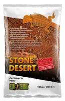 Stone Dessert grävsubstrat, Röd 10kg