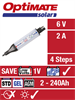 TecMate Optimate Solar inkl. 10W solpanel