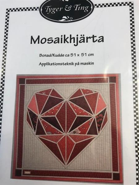 Mosaikkhjerte