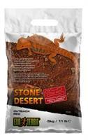 Stone Dessert grävsubstrat, Röd 5kg
