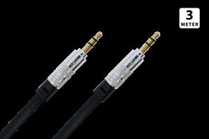 Aux/Ljudkabel 3,5mm - 3,5 mm 3M