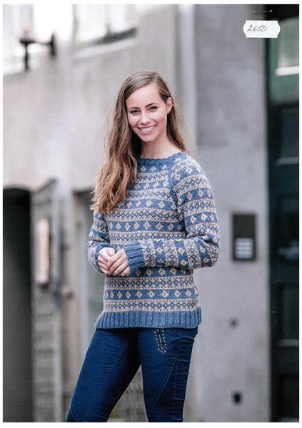 Nordisk sweater i Renew Wool
