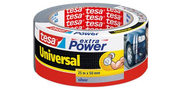 Silvertejp Tesa Extra Power 50mm 25m