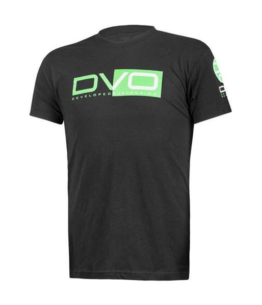 T-Shirt DVO Black/green Medium
