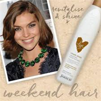 Juuce conditioning colour treatment caramel brown