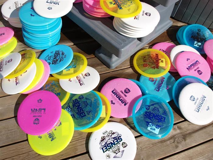 Discgolf - viktig del av vårt butikskoncept!