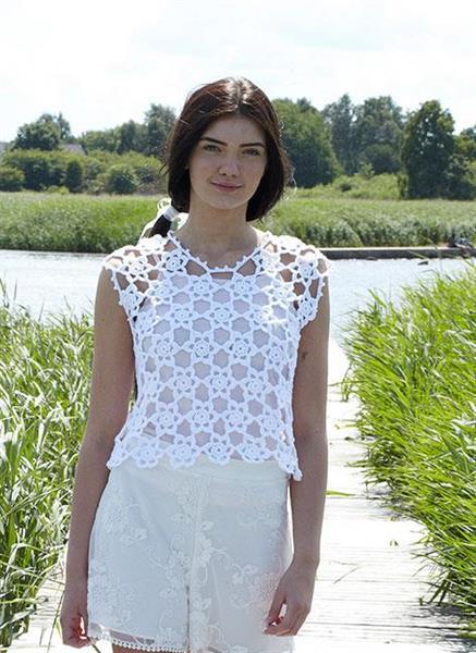 Virkat linne i Tilda