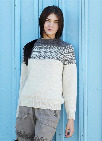 Raglantröja till dam i Soft Lama