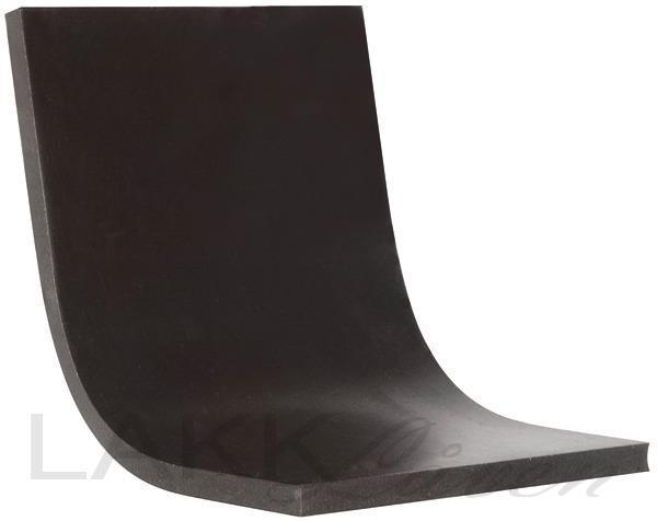CS Blacky - Sparkelspade Gummi 80x50mm