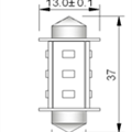 Spollampa SMD12 37mm