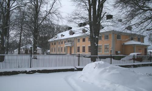Söderfors vinterbild