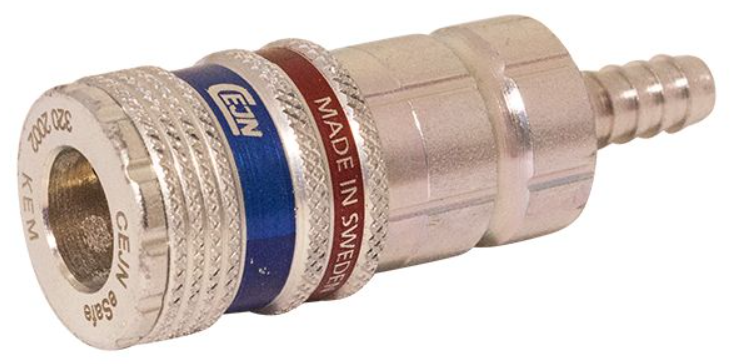Cejn 320  E-safe Slangansl, 6,3mm