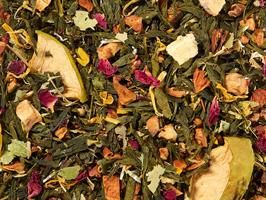Green tea blend Orchard (Pear Apple) flavoured