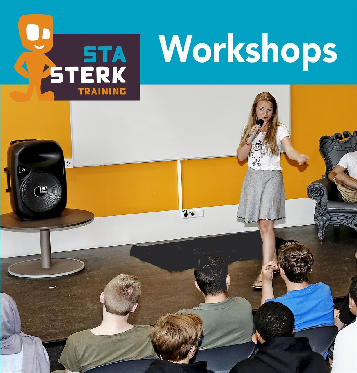 Sta Sterk Training Haarlem e.o  -  Sociale Weerbaarheidstraining kinderen - Tegen pesten