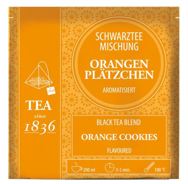 Black Tea Blend Orange Cookie