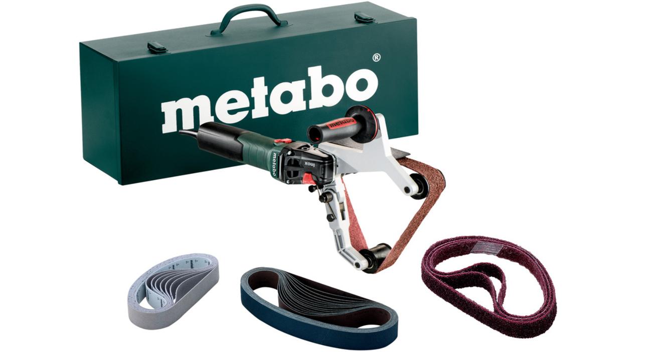 Metabo Rörbandslip RBE 15-180 Set