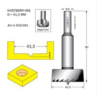Kvistborr HSS D=41,3, TL=90