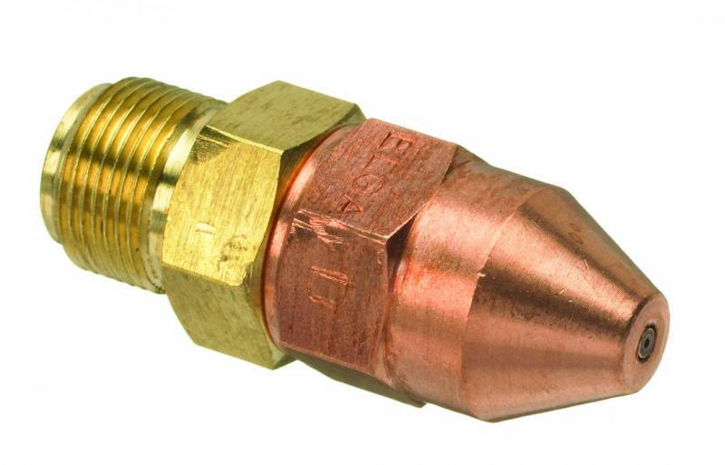 Ringlågemunstycke D75 1-10mm