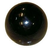 Kula Ø 40 (M12) svart bakelit