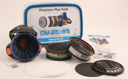 Sundström halvmask Premium plus