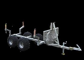 Timmervagn med boogie
