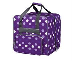 BabySnap saumurilaukku M violetti/pilkullinen