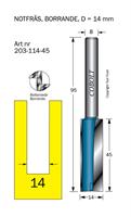 Notfräs D=14, L=45, TL=95mm