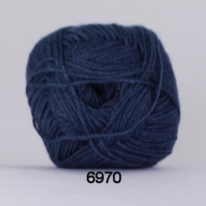 Bamboo Wool Jeansblå