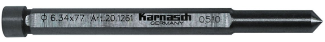 Styrpinne kort 6,34x77mm för 30mm