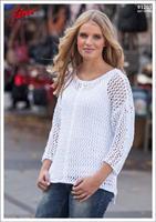 Glesstickad tröja Soft Cotton